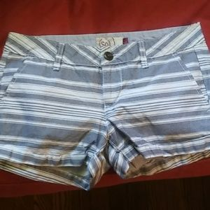 Cute striped shorts